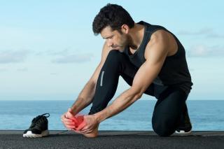 sporcular için ayak bakımı