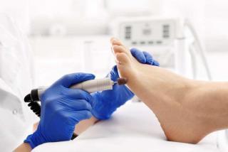 medikal ayak bakımı